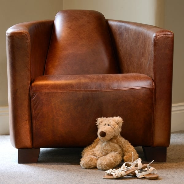 Cool Rio Leather Tub Chair Squirreltailoven Fun Painted Chair Ideas Images Squirreltailovenorg