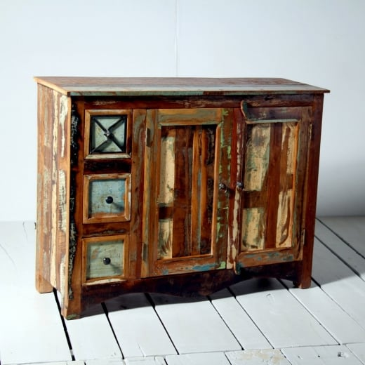 Riya Upcycled Medium Sideboard