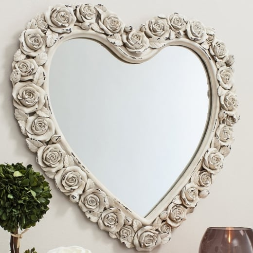 Rose Heart Mirror Mirrors Amp Home Accessories