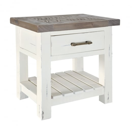Ruan Chalk Bedside Table