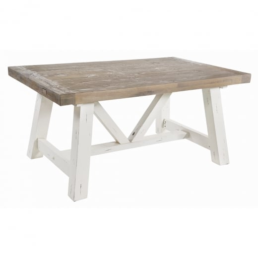 Ruan Chalk Extendable Dining Table