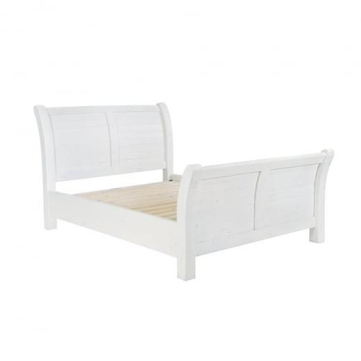 Ruan Chalk King Size Bed