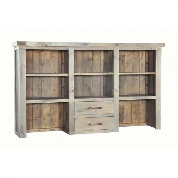Reclaimed Wood Large Dresser Top With Drawers From Curiosity Interiors
