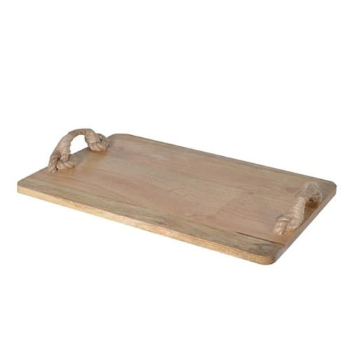 Rustic Cheese Board With Handles
