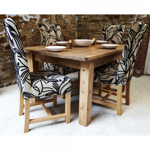 new concept f18b8 bfa41 Set of 4 Harlequin Fabric Dining Chair