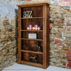 Sherwood Large Plank Bookcase