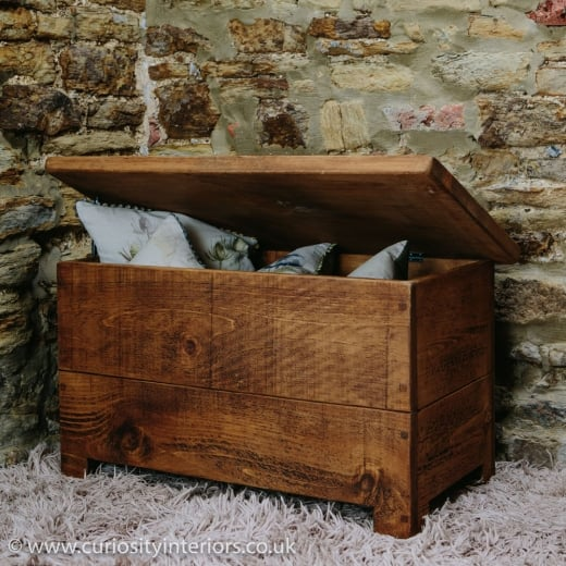 Curiosity Interiors Sherwood Plank Blanket Box