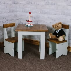 Sherwood Plank Children's Table & Chairs