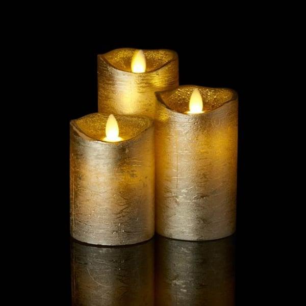 Led Wax Candle Gold Led Candle Sirius Led Curiosity
