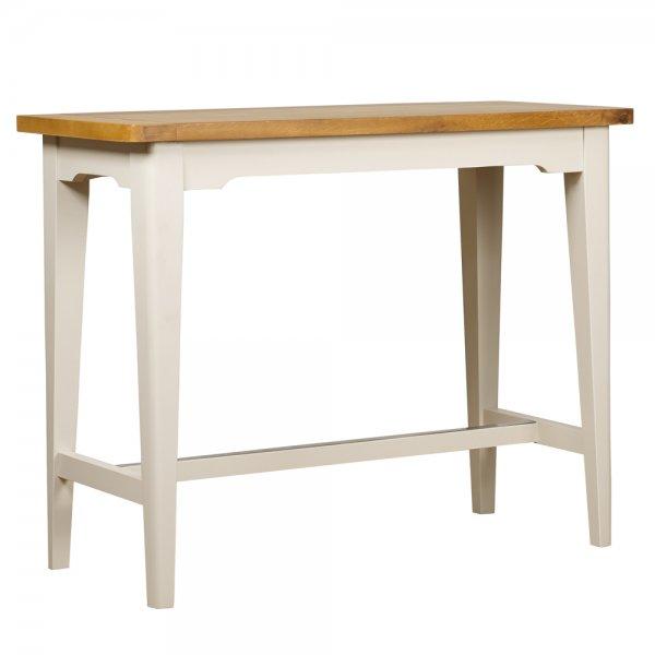 Tables Buy: Painted Oak Wood Two Tone Breakfast, High