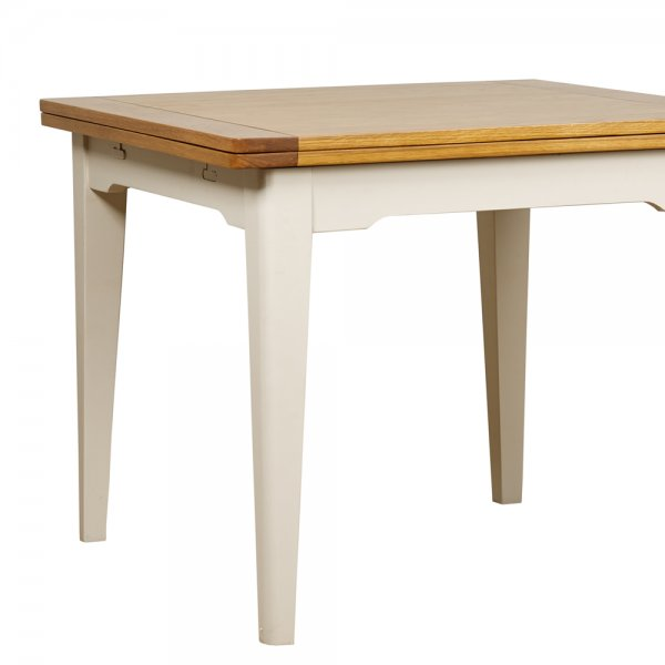 Buy Flip Top Extending Dining Table Painted Oak Dining  : st ives flip top extending dining table p2312 27631image from www.curiosityinteriors.co.uk size 600 x 600 jpeg 21kB
