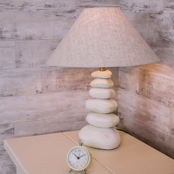 Stacked Pebble Lamp Cream Pebbles Table Lamps Amp Lighting
