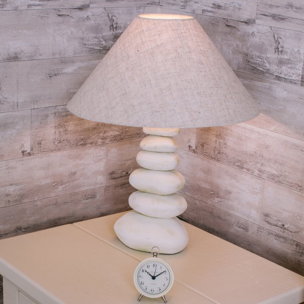 Buy stacked pebble lamp cream pebbles table lamps lighting stacked pebble lamp aloadofball Choice Image
