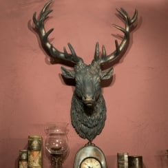 Stag Head Wall Sculpture