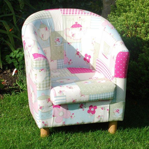 Tea Time Kids Tub Chair Children S Furniture