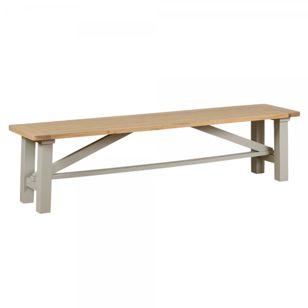 Trestle Dining Bench Oak Dining Benches Curiosity
