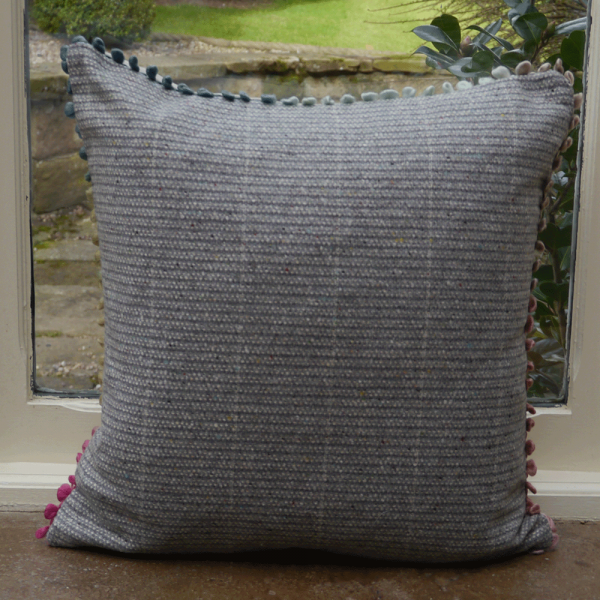 Voyage maison coco linen print cushion from curiosity for Au maison cushions uk
