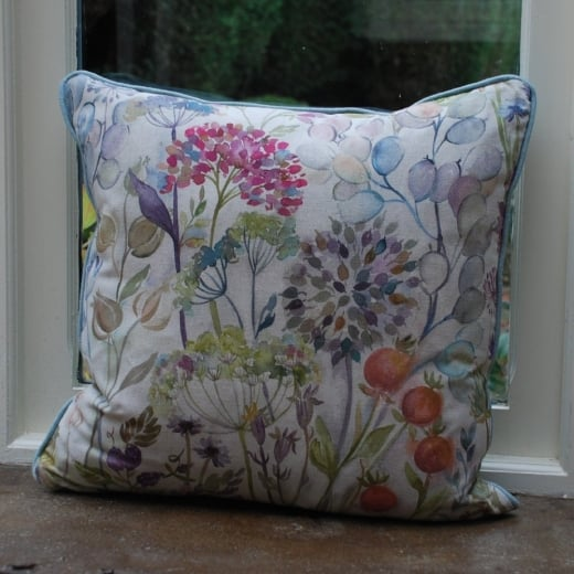 Voyage Maison Country Garden Linen Print Cushion