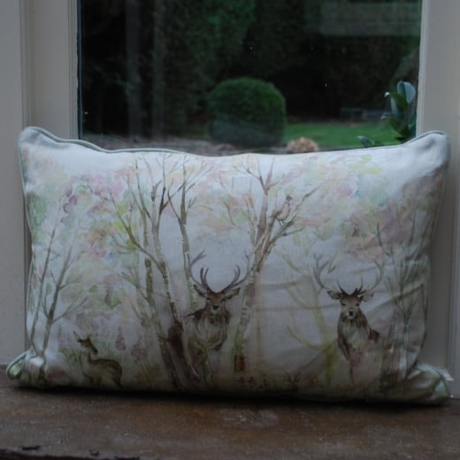 Voyage Maison Enchanted Forest Large Linen Print Cushion