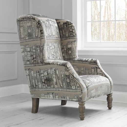 Voyage Maison Felix Library Books Wing Armchair