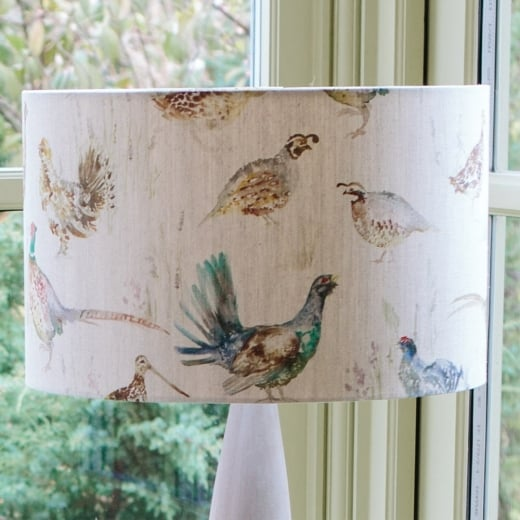 Voyage maison game birds lamp shade lighting accessories voyage maison gamebirds lamp shade mozeypictures Choice Image