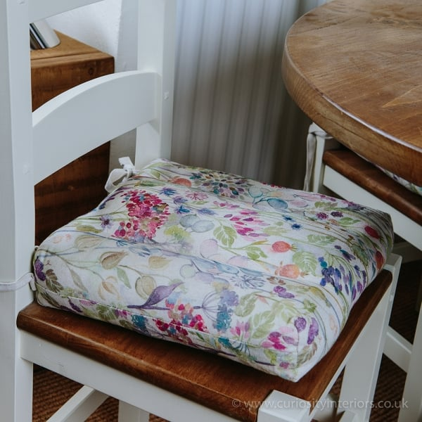 Voyage Maison Hedgerow Dining Chair Seat Pad From