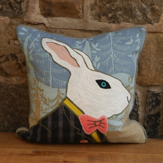 Voyage Maison Herbert Hare Patchwork Cushion
