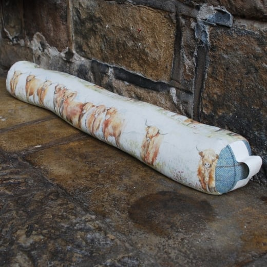Voyage Maison Highland Cattle Draught Excluder