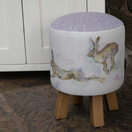Voyage Maison Hurtling Hares Monty Stool