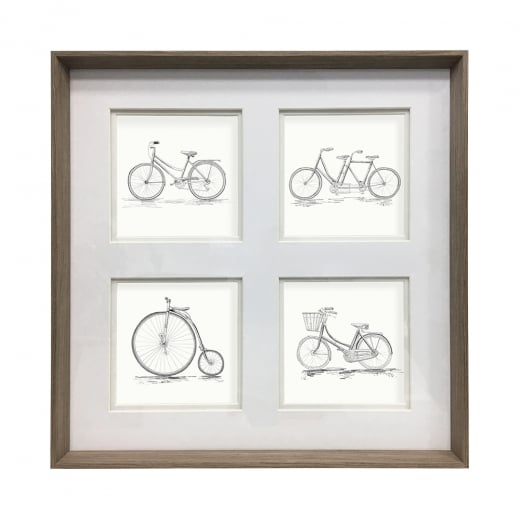 Voyage Maison Large Penny Farthing Framed Artwork