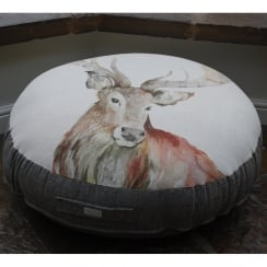 Large Stag Floor Cushion