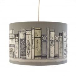 Library Books Lamp Shade