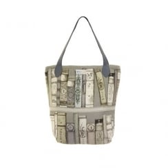 Library Books Shopper Bag