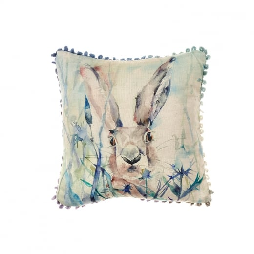 Voyage Maison Mini Collection Mini Jack Rabbit Linen Print Cushion