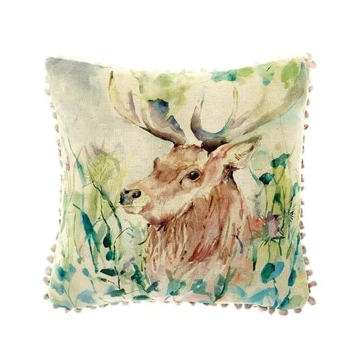 Voyage Maison Mini Collection Mini Oak View Linen Print Cushion