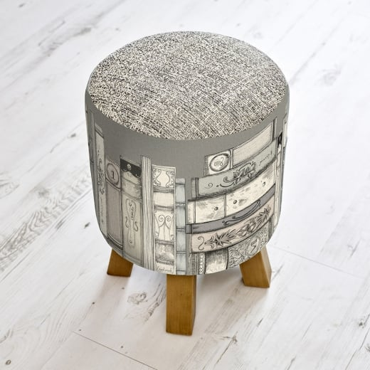 Voyage Maison Monty Library Books Stool