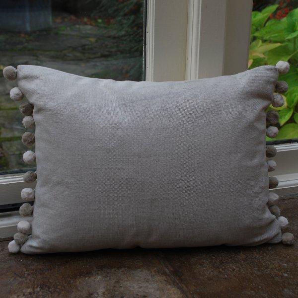 Voyage maison 39 oink 39 pig linen cushion voyage maison for Au maison cushions uk