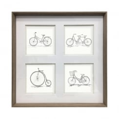 Penny Farthing Framed Artwork