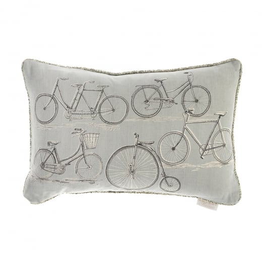 Voyage Maison Penny Farthing Linen Print Cushion