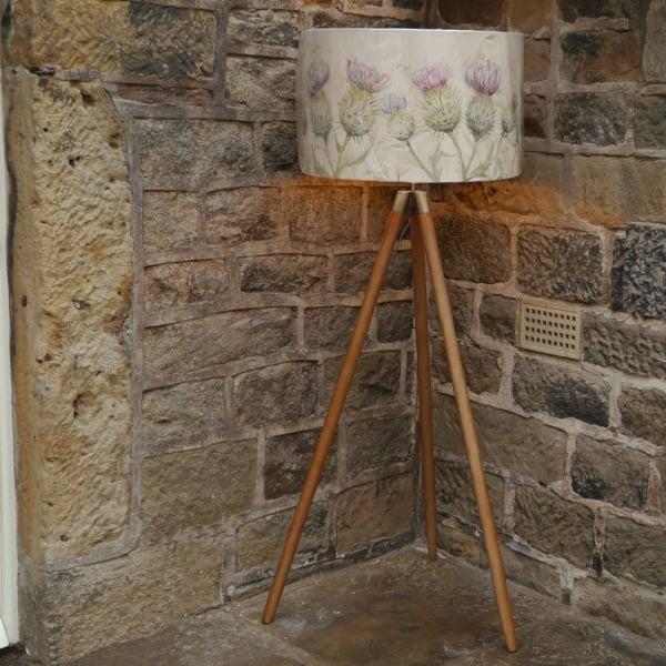 Voyage Maison Tripod Thistle Glen Floor Lamp From