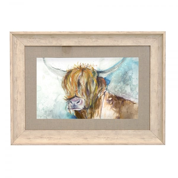 Voyage Maison Rory Highland Cow Framed Print From