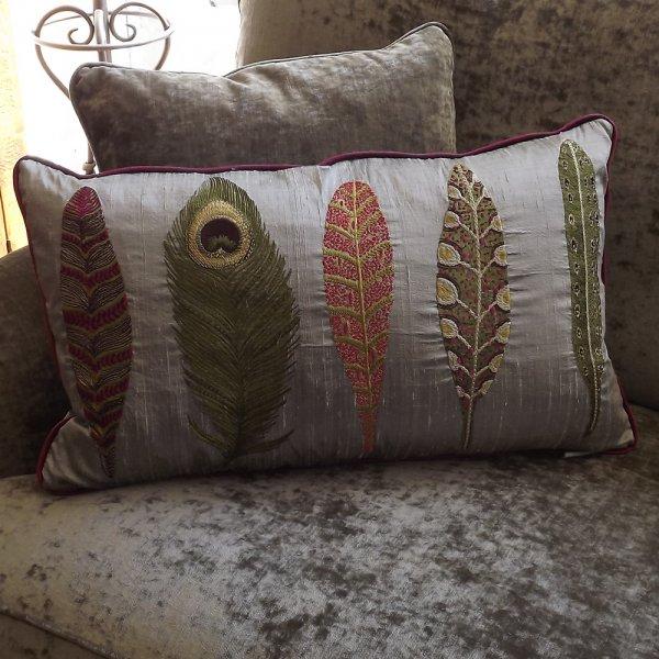 Buy samui lotus silk cushion voyage maison couture for Au maison cushions uk