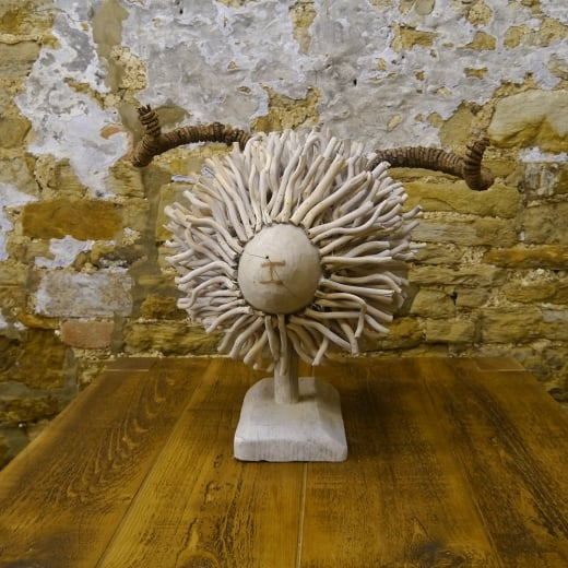 Voyage Maison Sheep Wooden Sculpture
