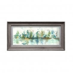 Wilderness Topaz Rectangular Framed Artwork