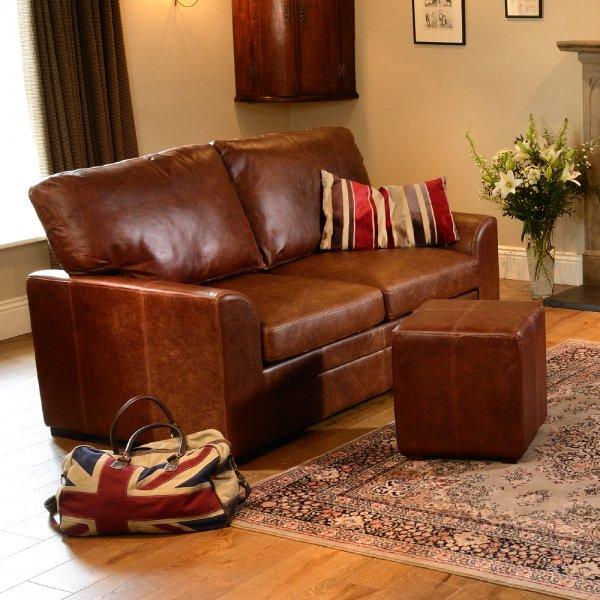 Washington Leather Sofa Range