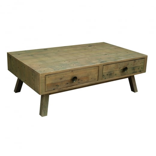 Woodland Coffee Table with Drawers
