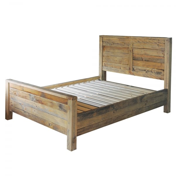 Reclaimed Wood Bed Recycled Wooden Beds Curiosity