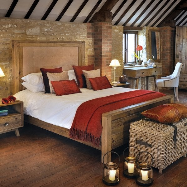 Reclaimed Wood Bed Recycled Wooden Beds Curiosity Interiors
