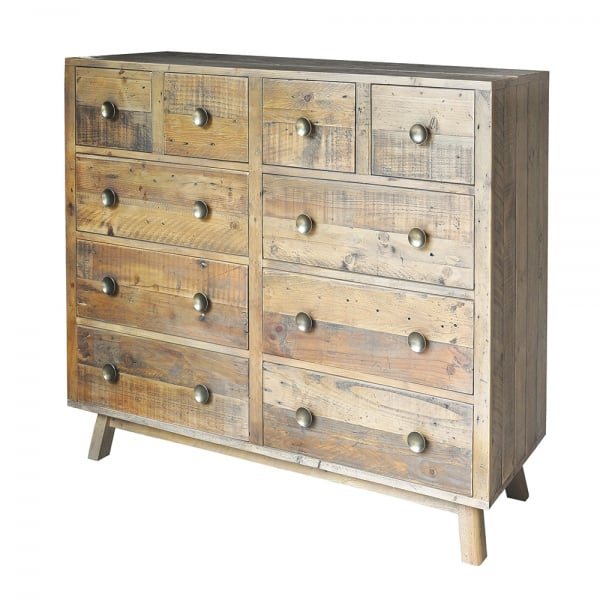 Rustic Chest Of Drawers Reclaimed Wood Drawers Curiosity Interiors